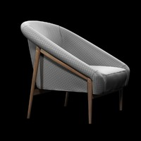 chair lounge 3d 3ds