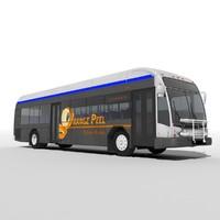 3d model gillig bus
