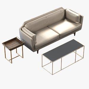 max beige leather sofa coco