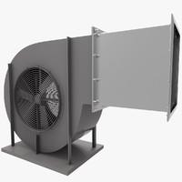 3d ventilation grid