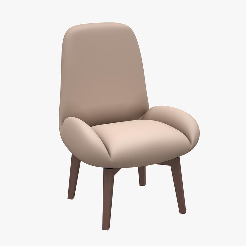3d chair zivella model
