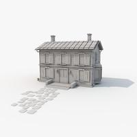 c4d designs story house