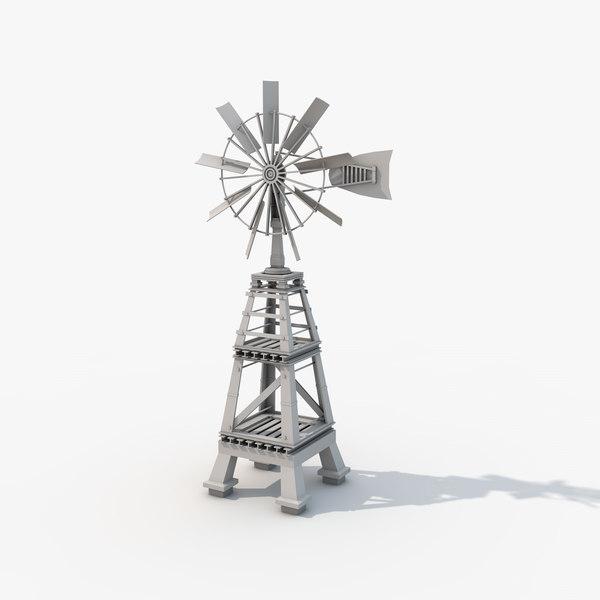 c4d designs windmill