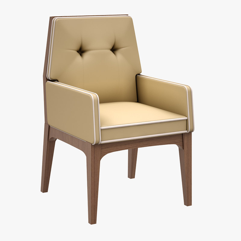 chair zivella 3d model