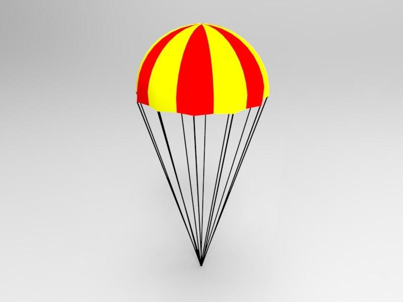 3d 3ds parachute