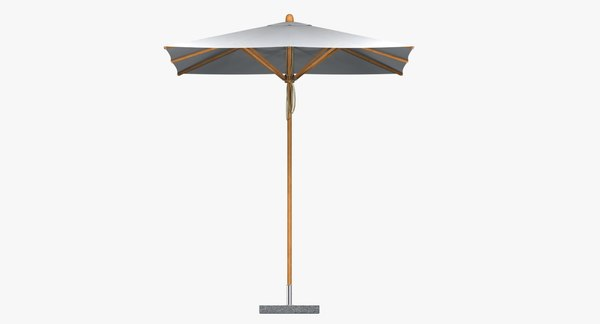 3d max parasol levante bambrella