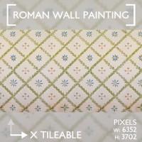 Roman Wall Painting Scheme