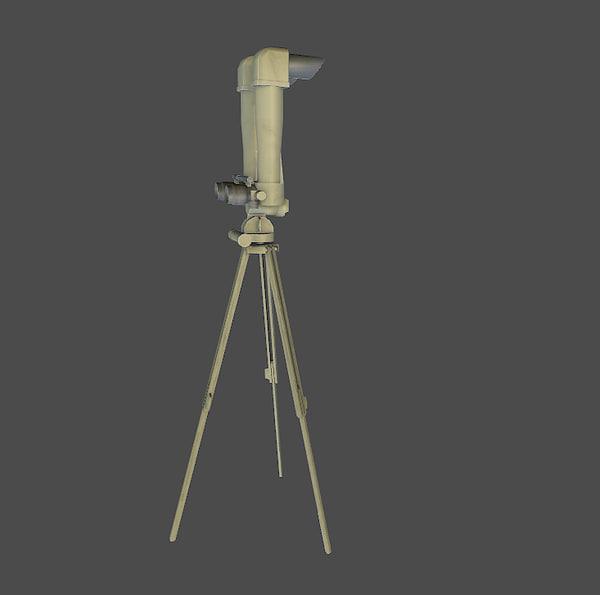 3d 3ds ww2 german field scope