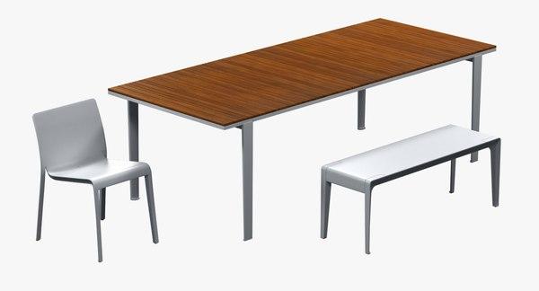 chair table bench carpino max