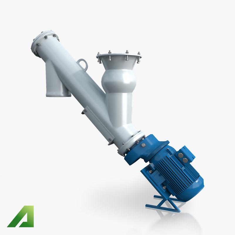 3ds screw conveyor
