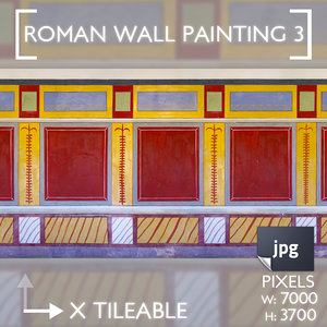 Roman Wall Painting Scheme 3