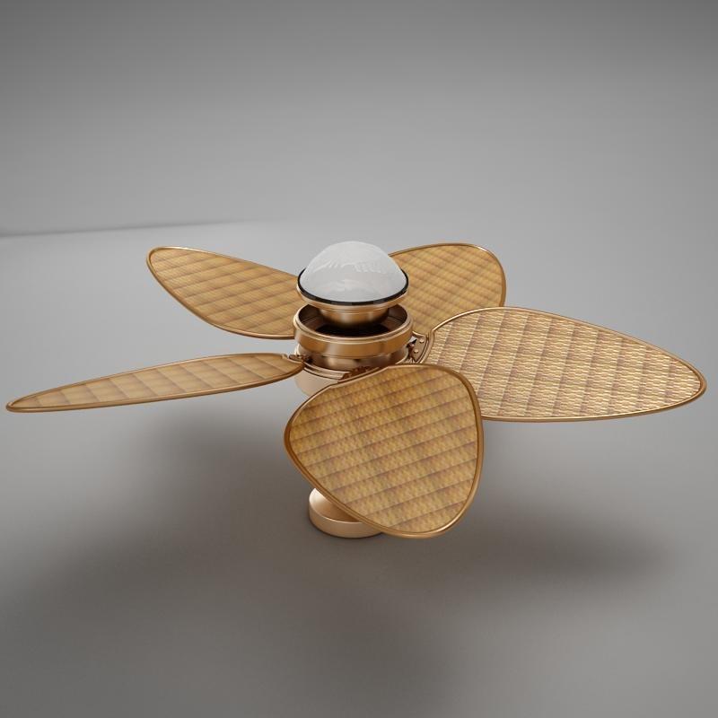 fan ceiling 3d model