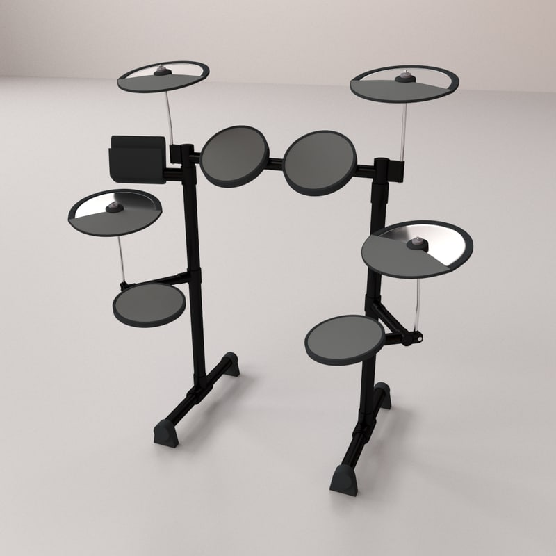 electronic drum 3ds