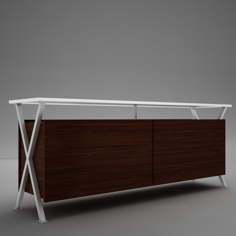 3d dining room buffet table model