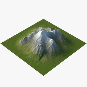 max mountain displace flat