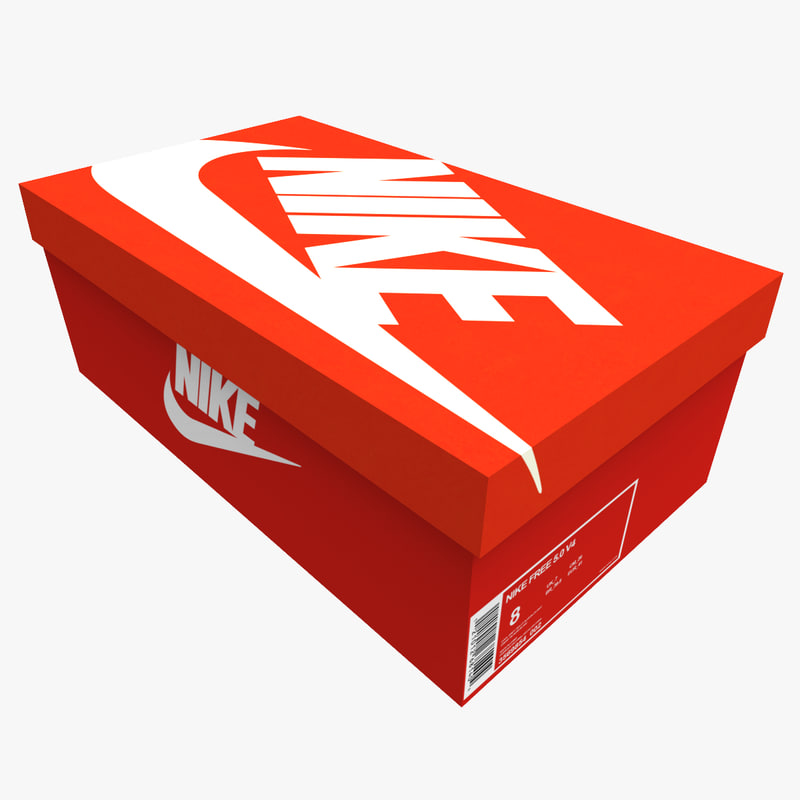 Empty Nike Shoes Box