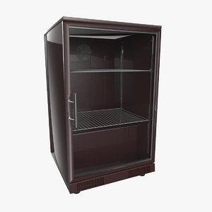 little fridge 3d model