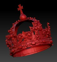 3d crown royal model