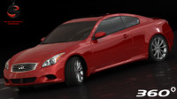 Infiniti G37 Coupe Sport 2008 (Low Interior)