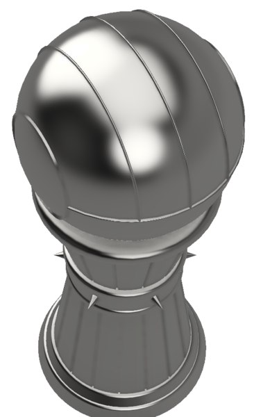 chess piece pawn 3d 3ds