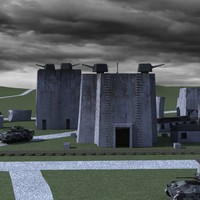 3d model of wolf s lair hitler