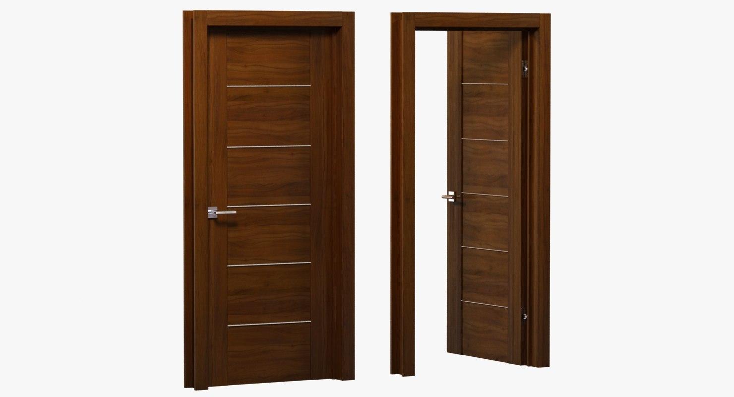 door open 3d model