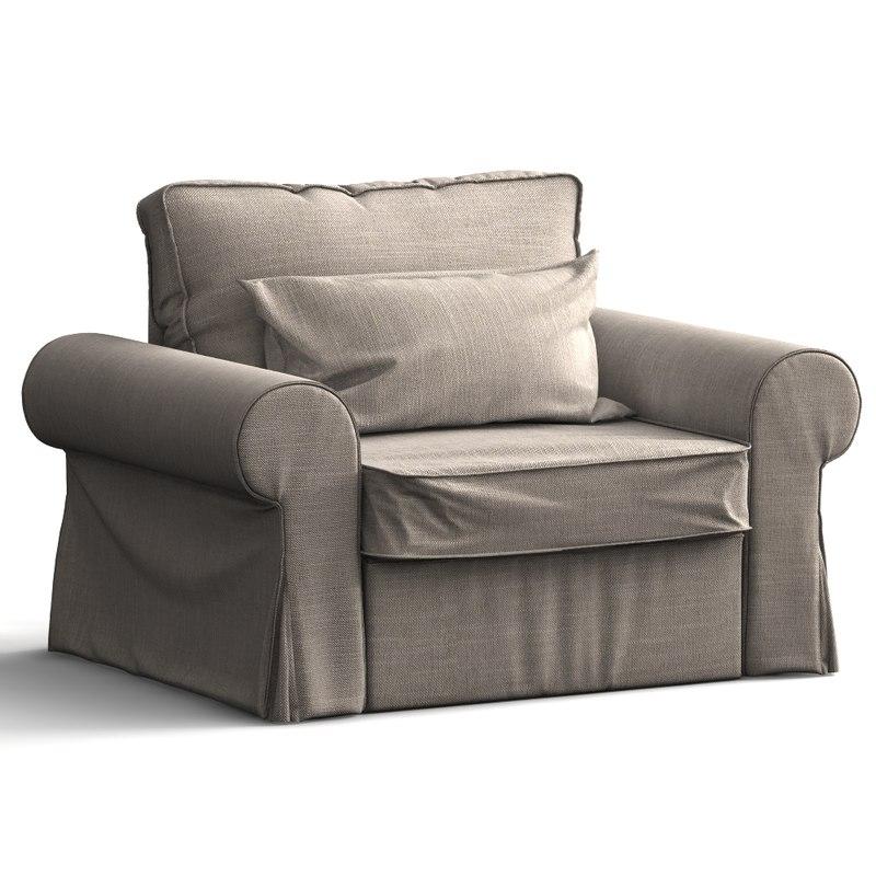 3d arm chair bakkabru