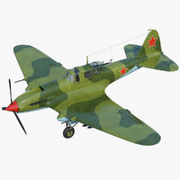 IL 2 fighter Ilyushin