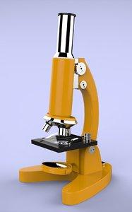 3d model microscope