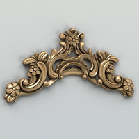 Carved decor horizontal 004