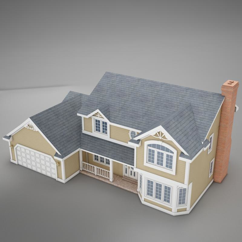 3d home american