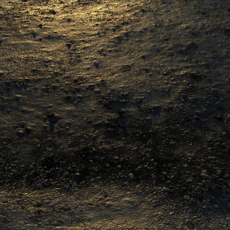 ground mud muddy 3d max