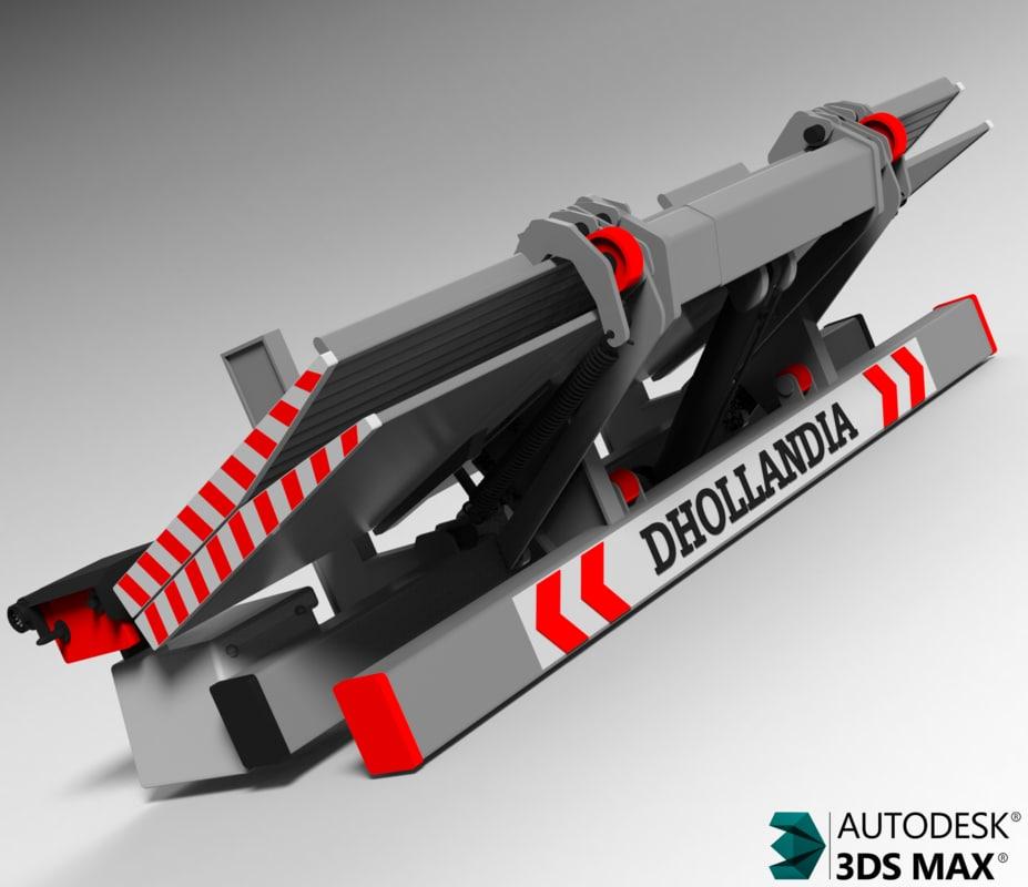 3d model dhollandia trucks
