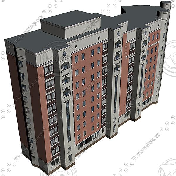 house street 3d max
