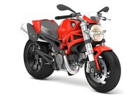 Ducati Monster Cartoon