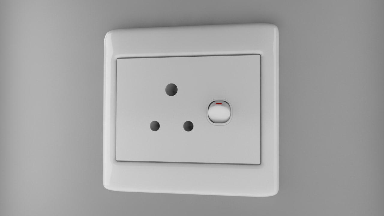 max power socket type d