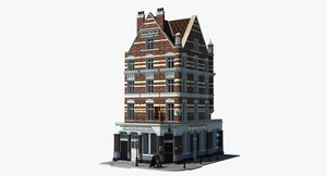 london historic building corner max