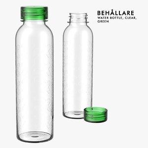 ikea water bottle behallare 3d 3ds