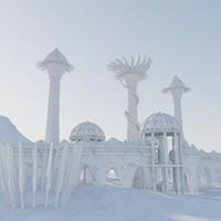 Modular Fantasy Castle