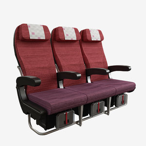 jal wider seat 3d max