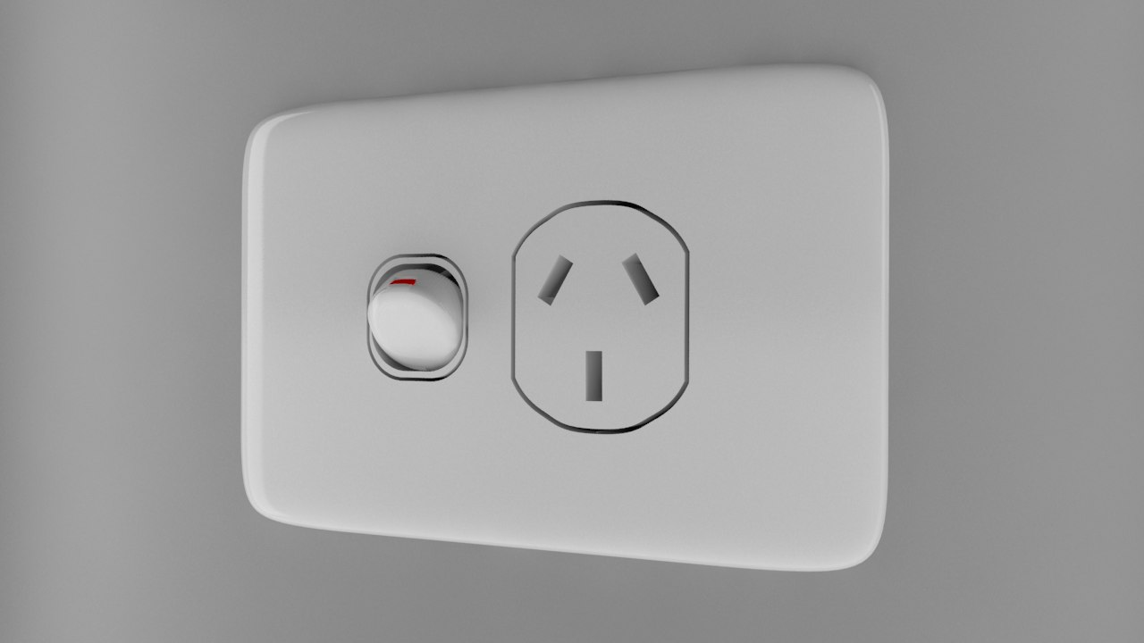 power socket type fbx