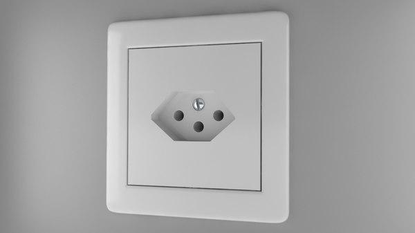 max power socket type j