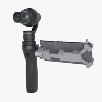 3d model of photoreal dji osmo priv