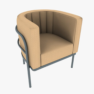 armchair 12 3d max
