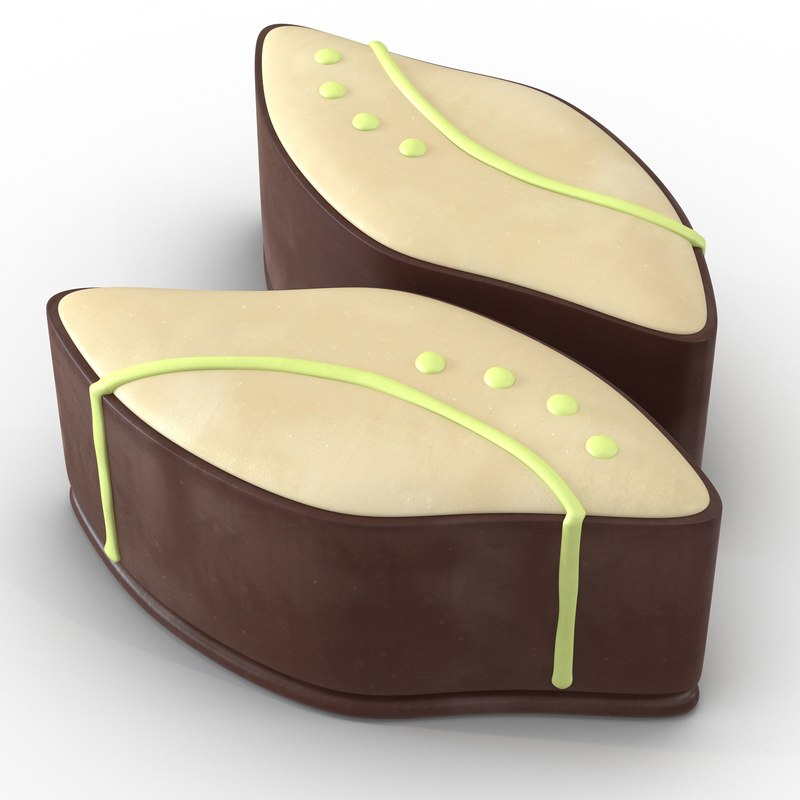 3d chocolate candy