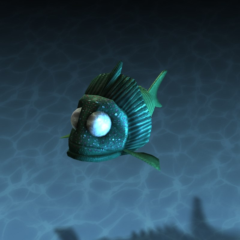 terrorfish stingray 3d model