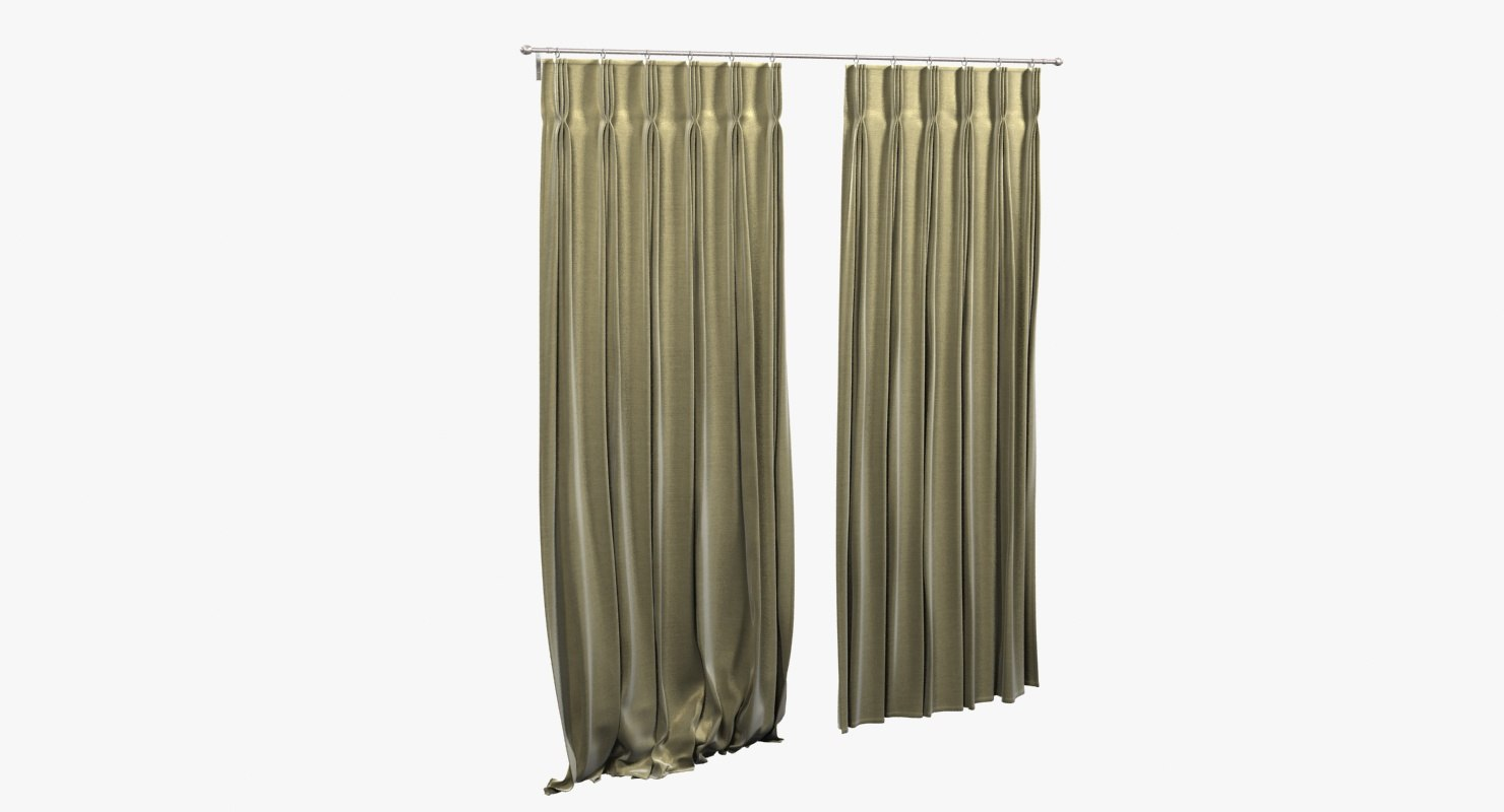 max curtains pinch pleat heading