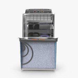 jukebox box juke 3d max