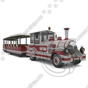 dotto train 3d model