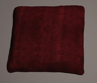 3d model of cushion scanned
